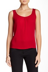 Escada Necane Silk Tank Red