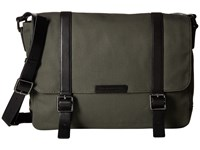 Marc By Marc Jacobs Classic Canvas Messenger Workwear Fatigue Messenger Bags Black