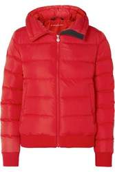 Perfect Moment Super Star Quilted Down Jacket Red