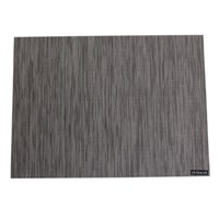 Chilewich Bamboo Rectangle Placemat Grey Flannel