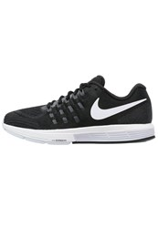 Nike Performance Air Zoom Vomero 11 Cushioned Running Shoes Black White Anthracite Dark Grey