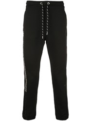 Just Cavalli Jogging Style Studded Trousers Black