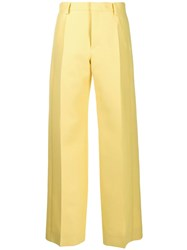 Lanvin Tailored Trousers Yellow