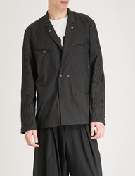 The Soloist Music Note Shell Jacket Black