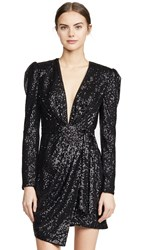 Fame And Partners The Mana Sequin Dress Black