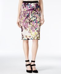 Rachel Roy Jacquard Sweater Skirt Only At Macy's Ivory Combo