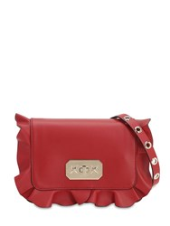 Red Valentino Leather Shoulder Bag Ribes