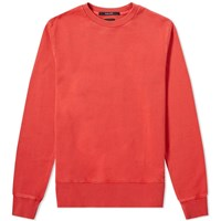 Ksubi Seeing Lines Crew Sweat Red