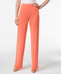 Alfani Knit Wide Leg Trousers Only At Macy's Tropical Reef