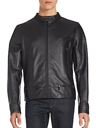 Porsche Design Sport Motocross Leather Jacket Black
