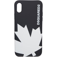 Dsquared2 Black Leaf Iphone X Case