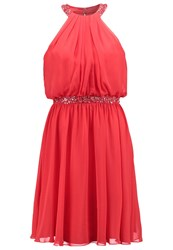 Luxuar Fashion Cocktail Dress Party Dress Rot Red