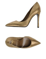 Icone Pumps Gold