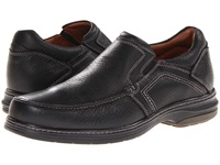 Johnston And Murphy Colvard Venetian Black Waterproof Full Grain Men's Slip On Shoes