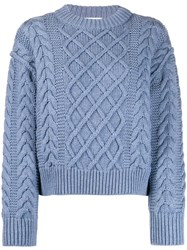Each X Other Cropped Cable Knit Jumper 60