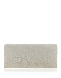 Nina Honor Studded Clutch Champagne Gold