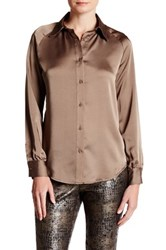 Insight Long Sleeve Blouse Gray