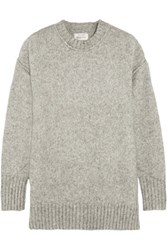 R 13 R13 Oversized Knitted Sweater Gray