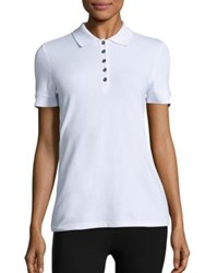 Burberry New Core Polo Shirt White