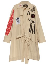 Vivienne Westwood Oversized Builder Trench Coat Beige