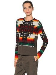 N 21 Wool And Mohair Knit Sweater