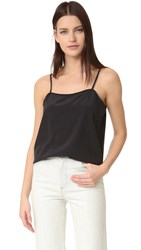 6397 Square Cami Washed Black