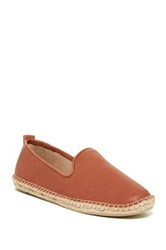 Kenneth Cole Reaction Boom Er Leather Espadrille Flat Brown