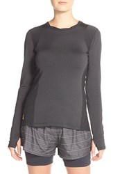 Women's Lole 'Glory' Knit Top Black