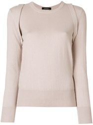 Unconditional Front Harness Jumper Nude And Neutrals