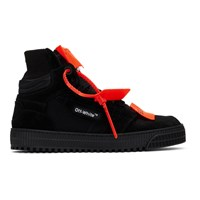 Off White Black Court 3.0 Sneakers