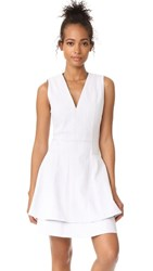 Derek Lam 10 Crosby Fit And Flare Dress Chalk