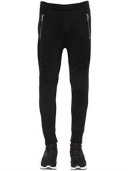Neil Barrett Patchwork Neoprene Biker Jogging Pants