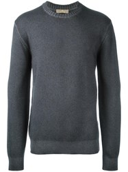Cruciani Crew Neck Jumper Grey