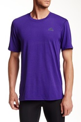 Adidas Ultimate Short Sleeve Tee Purple