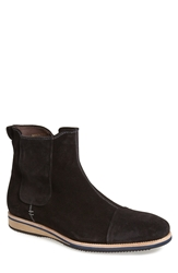 Bacco Bucci 'Borsetti' Zip Boot Men Black