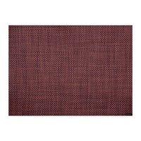 Chilewich Basketweave Rectangle Placemat Plum