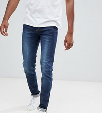 Loyalty And Faith Tall Beattie Skinny Fit Jean In Mid Wash Blue