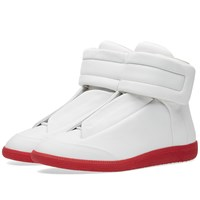 Maison Martin Margiela Maison Margiela 22 Future High Red Sole Sneaker White