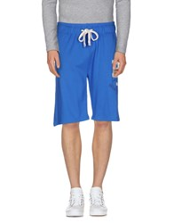 Timeout Trousers Bermuda Shorts Men Blue