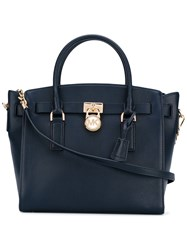 Michael Michael Kors Top Handle Tote Women Leather One Size Blue