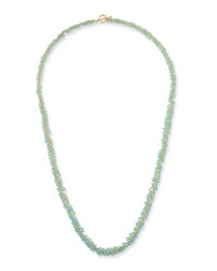 Margo Morrison Chalcedony Cluster Necklace Blue