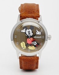Disney Brown Classic Mickey Mouse Watch