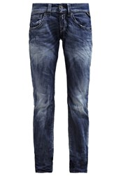 Replay New Swenfani Straight Leg Jeans Washed Blue Blue Denim