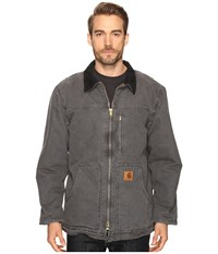 Carhartt Sandstone Ridge Coat Gravel Men's Jacket Silver