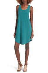 Leith Women's Tank Dress Green Berry