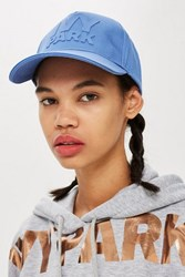 Ivy Park Silicon Logo Cap By Dusty Blue