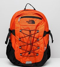 The North Face Borealis Classic Backpack 29 Litres In Orange Persian Orange Blck