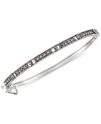 Giani Bernini Marcasite Bangle Bracelet In Sterling Silver