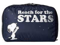 Le Sport Sac Extra Large Rectangular Cosmetic Reach For The Stars Cosmetic Case Blue