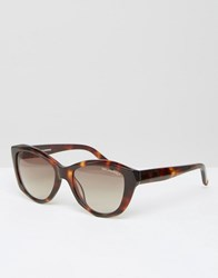 Karl Lagerfeld Sunglasses Havana Brown